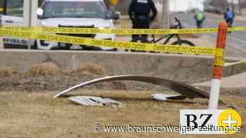 Flugverkehr: Flugzeugteile abgestürzt - Boeing muss in Denver notlanden