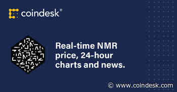Numeraire Price | NMR Price Index and Live Chart - Coindesk
