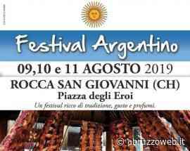 ROCCA SAN GIOVANNI: TUTTO PRONTO PER IL FESTIVAL ARGENTINO | Ultime notizie di cronaca Abruzzo - Abruzzoweb.it