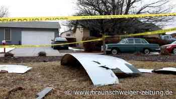 Flugzeugteile stürzen auf Wohngebiet nahe US-Stadt Denver