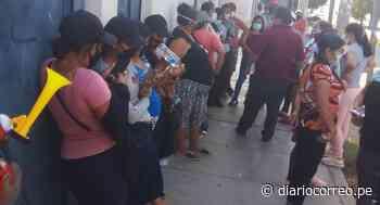 Cientos de familias del A.H Los Polvorines sufre por la falta de agua potable - Diario Correo