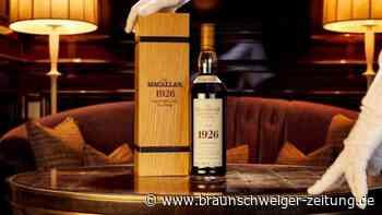 Versteigerung in Perth: Teuerster Whisky der Welt? Auktion in Schottland endet
