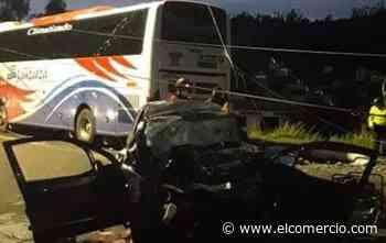 Accidente de tránsito deja cuatro personas fallecidas en Pelileo - El Comercio (Ecuador)