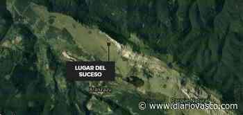 Un hombre muere tras caer en el monte Aloña en Oñati - Diario Vasco