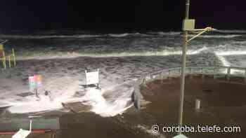 Sudestada en Monte Hermoso: el agua llegó hasta la costanera - Telefe Cordoba