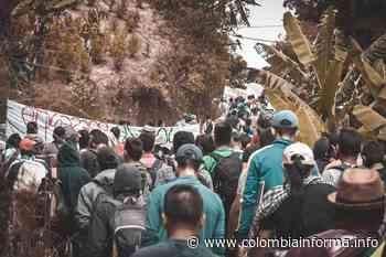 [En Imágenes] Comunidad de Hacarí se moviliza para exigir el retiro de base militar - Colombia Informa Movimientos Sociales - Agencia de Comunicación de los Pueblos Colombia Informa