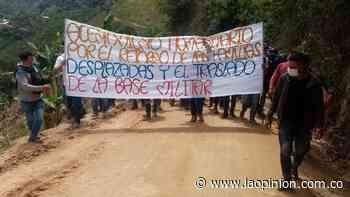 Piden reubicar una base militar en Hacarí | La Opinión - La Opinión Cúcuta