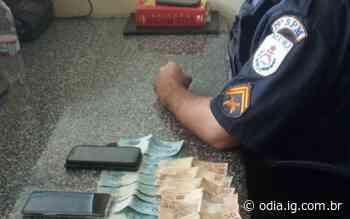 Em Natividade, homem é preso com suposto dinheiro do tráfico; apreensão de R$ 2,1 mil - O Dia