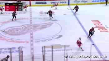 Mathias Brome with a Goal vs. Florida Panthers - Yahoo Canada Sports