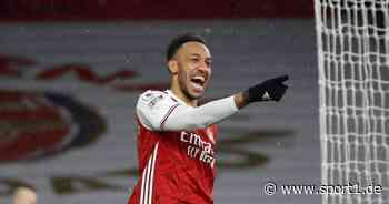Pierre-Emerick Aubameyang mit Dreierpack für den FC Arsenal - SPORT1