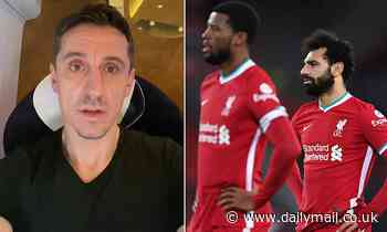Gary Neville takes sly dig at 'vexed' Liverpool fans with tongue-in-cheek apology video