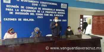 Lista la propuesta general de inversión 2021: Zenón Pacheco Vergel - Vanguardia de Veracruz