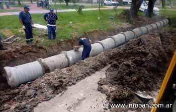 Avanza una nueva obra hidráulica en General Pacheco - InfoBan