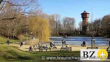 Wolfenbütteler genießen die ersten warmen Tage