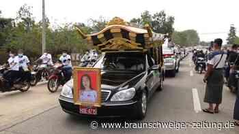 Myanmar: Tausende bei Bestattung von getöteter Demonstrantin