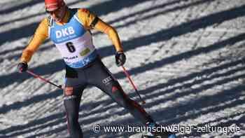 Biathlon-WM: Peiffer Zwölfter im Massenstart - Laegreid siegt