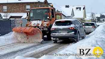 """Das """"Schnee-Chaos"""" – und was der SRB für Salzgitter daraus lernt"""