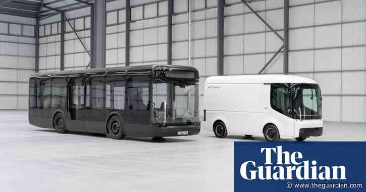Electric busmaker Arrival schedules first UK road trial