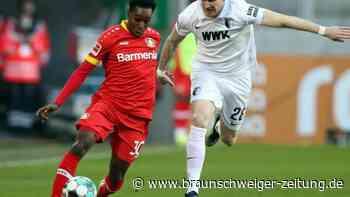 22. Spieltag: Leverkusen rettet sich durch spätes Tor zu Remis in Augsburg
