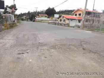 Tramo vial El Descanso-Azogues, de la Panamericana Norte, empeora - El Mercurio (Ecuador)