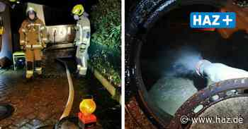 Laatzen: Feuerwehr Ingeln-Oesselse pumpt Tauwasser aus Keller - Hannoversche Allgemeine