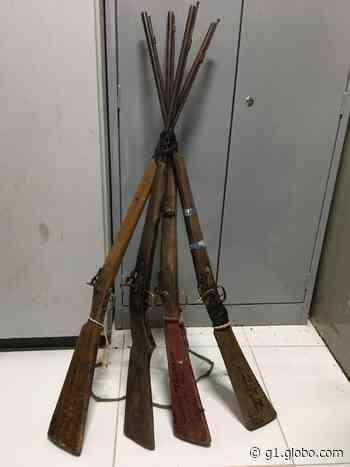 Polícia prende homem suspeito de estupro e apreende quatro armas em Chapadinha - G1