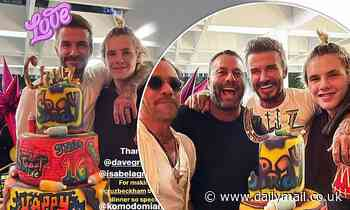 David Beckham and son Cruz appear to flout mask-wearing and social-distancing rules in Miami