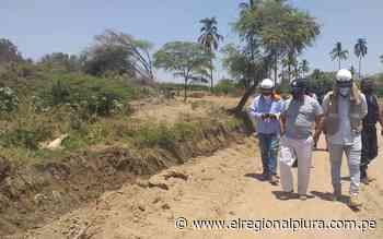 Sullana: distrito de Querecotillo se beneficiará con mejoramiento de canales - El Regional
