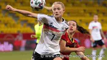 Frauen-Nationalmannschaft: DFB-Frauen beim Länderspielauftakt mit Sieg gegen Belgien