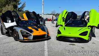 How to embarrass a McLaren on drag strip: use another McLaren