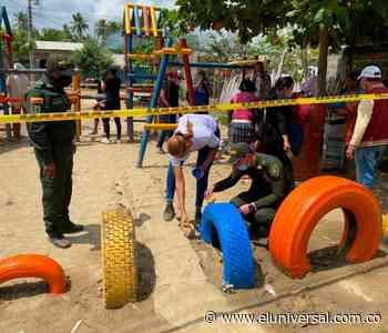 Recuperan parque abandonado en el municipio de Achí - El Universal - Colombia