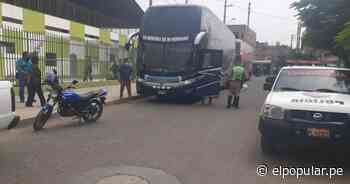 Huaral: PNP interviene a dos buses con 128 extranjeros ilegales [VIDEO] - ElPopular.pe