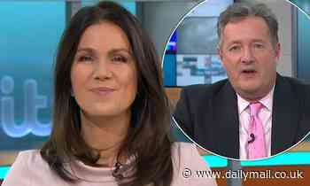 Susanna Reid sarcastically hits back at a troll who tried to insult her and GMB co-host Piers Morgan