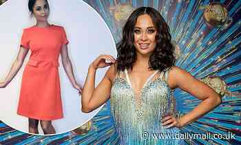 Strictly Come Dancing star Katya Jones joins fellow celebrities in selling her used clothes online