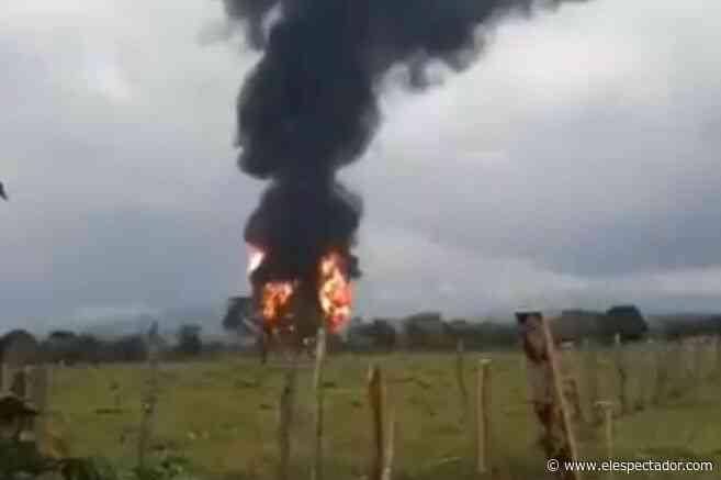 Explosión en el oleoducto Caño Limón Coveñas en Saravena, Arauca, fue un atentado - El Espectador