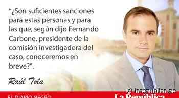 Sanción social, por Raúl Tola - LaRepública.pe