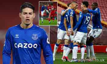 James Rodriguez hails Everton's win at Anfield but admits there are 'tough' games to come