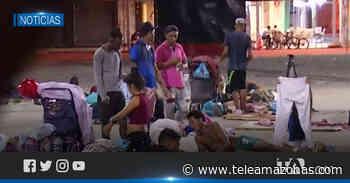 Más de 400 migrantes se encuentran represados en Huaquillas - Teleamazonas