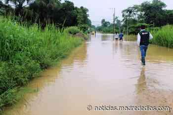 Autoridad Nacional del Agua informa que caudal del río Madre de Dios supera su nivel máximo - Radio Madre de Dios