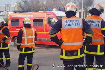 Près de Canteleu. 31 sapeurs-pompiers mobilisés pour un feu de cavité souterraine - Le Courrier Cauchois