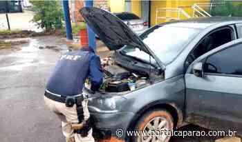 Carro roubado em Espera Feliz é recuperado pela PRF em Muriaé - Portal Caparaó
