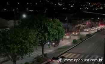 Covid-19: Prefeituras de Ceres e Rialma fazem carreata para alertar população sobre calamidade - O Popular