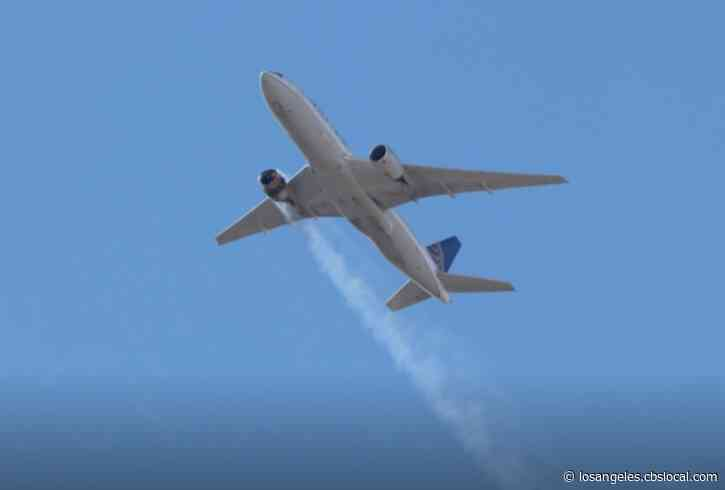 Locals React To United Airlines Midair Engine Explosion