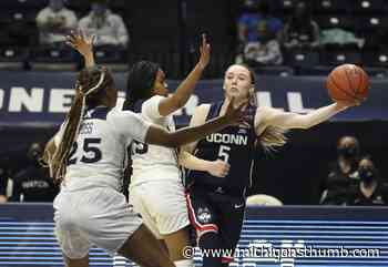 No. 1 UConn women clinch Big East title share, rout Xavier - Huron Daily Tribune