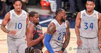 NBA, All-Star-Game: LeBron James und Kevin Durant Kapitäne, Bradley Beal dabei - SPORT1