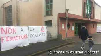 À Mouy, colère contre une fermeture de classe maternelle - Courrier picard