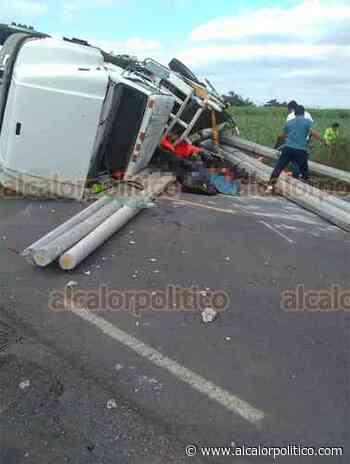 Volcadura de camión en Paso del Macho dejó 3 muertos y 6 heridos - alcalorpolitico