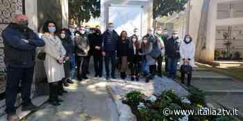 """Al Cimitero di Sala Consilina inaugurata la splendida immagine di San Michele """"a guardia"""" di tutti i Salesi - Italia2TV"""