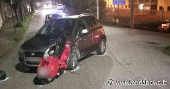 """Incidente in Via Pozzillo a Sala Consilina. Giovane ferito trasportato al """"Curto"""" - ondanews"""