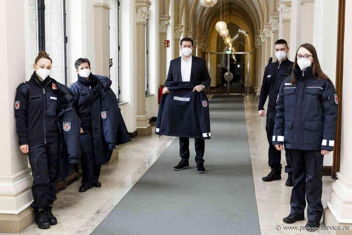 Blau statt schwarz: ZOD trägt neue Uniformen